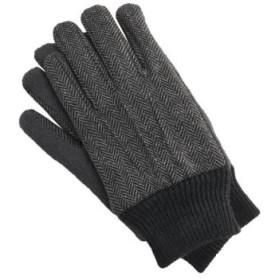 (sankyoshokai/サンキョウショウカイ)手袋 メンズ スマートフォン タッチパネル/メンズ グレー