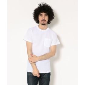 (BEAVER/ビーバー)JE MORGAN/JEモーガン 半袖パック TEE/メンズ WHITE