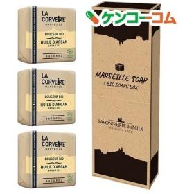 マルセイユソープ 3BIOSoaps BOX アルガンオイル ( 100g3コ入 )/ ラ・コルベット