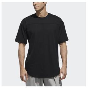 (SPORTS AUTHORITY/販売主:スポーツオーソリティ)アディダス/メンズ/M S2S 3STRIPES ワーディングラウンドテールTシャツ/メンズ ブラック