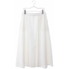 (HIROKO BIS/ヒロコビス)インバーテッドプリーツスカート/レディース ホワイト 送料無料