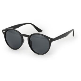 (Men's Bigi/メンズビギ)クリアフレームボストン型サングラス/メンズ ブラック