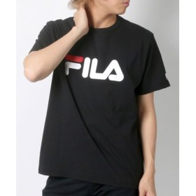 (MARUKAWA/マルカワ)【FILA】フィラ ロゴ 半袖Tシャツ/メンズ ブラック