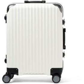(GALLERIA/ギャレリア)カーゴ スーツケース CARGO キャリーケース フレーム 52L ハードケース TW-64/メンズ アイボリー 送料無料