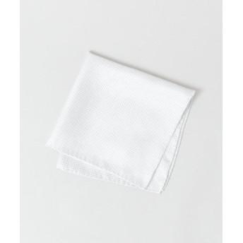 (URBAN RESEARCH/アーバンリサーチ)URBAN RESEARCH Tailor ドット チーフ/メンズ WHITE