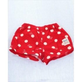 スラップスリップ SLAP SLIP ショートパンツ 110cm 赤系 ドット ボトムス 女の子 キッズ 子供服 通販 買い取り
