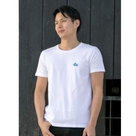 (CAYHANE/チャイハネ)【Kahiko】MALIBU SHIRTS レイハワイメンズTシャツM/メンズ ホワイト