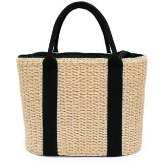 (MURA/ムラ)MURA かごバッグ トート レディース 巾着付き バスケット トートバッグ ナチュラル/レディース 布結びタイプ