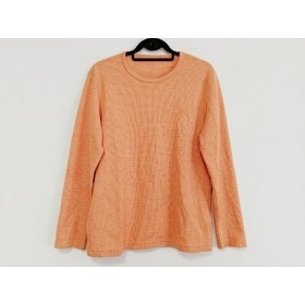 【中古】 ブラックレーベルクレストブリッジ 長袖Tシャツ サイズL メンズ オレンジ