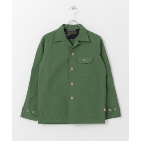 (URBAN RESEARCH/アーバンリサーチ)FREEMANS SPORTING CLUB CAMP SHIRTS/メンズ GREEN 送料無料