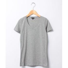 (Theory/セオリー)UネックTシャツ STAY/JUIN2/レディース グレー
