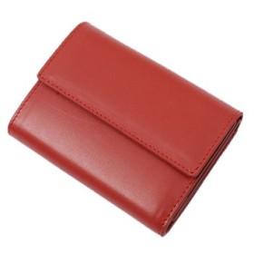 (SILVER BULLET/シルバーバレット)SBselect【シルバーバレットセレクト】牛革三つ折りミニ財布/メンズ レッド 送料無料