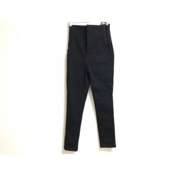 【中古】 オープニングセレモニー OPENING CEREMONY パンツ サイズM レディース 美品 黒