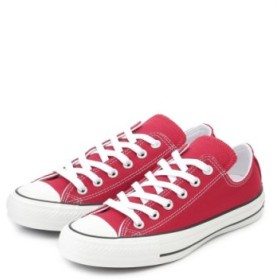 (emmi/エミ)【CONVERSE】ALL STAR 100 COLORS OX/レディース RED
