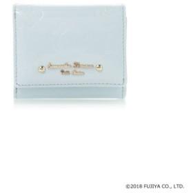 (Samantha Thavasa Petit Choice/サマンサタバサプチチョイス)ペココレクションエナメル型押しミニ財布/レディース ブルー 送料無料