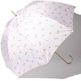(pink trick/ピンクトリック)BE SUNNY ビーサニー 長傘 【深張り】 ガーデン (晴雨兼用 UV 紫外線カット 耐風 軽量 撥水)/レディース ピンク