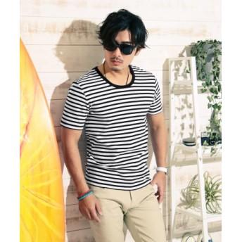 (JIGGYS SHOP/ジギーズショップ)スパンフライスクルーネックTシャツ/Tシャツ メンズ ティーシャツ 半袖 uネック クルーネック コットン/メンズ その他