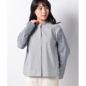 (LA JOCONDE/ラ ジョコンダ)【洗える】ブロードストライプシャツ/レディース ホワイト