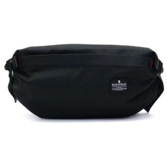 (GALLERIA/ギャレリア)マキャベリック ウエストバッグ MAKAVELIC チェイス CHASE ORIGAMI WAIST BAG オリガミ ボディバッグ 3109-10305/ユニセックス ブラック 送料無料