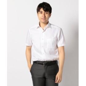 (enter G/エンタージー)【日本製】【イージーケア】オックス半袖シャツ/メンズ ホワイト系