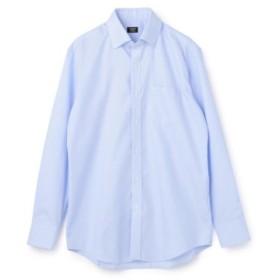 (Men's Bigi/メンズビギ)《EASY CARE》スナップダウンシャツ/メンズ ブルー 送料無料