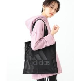 adidas×Ray BEAMS メッシュ ロゴ トートバッグ