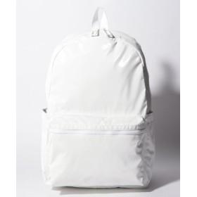 (LeSportsac/レスポートサック)ESSENTIAL BACKPACK 45 ホワイトエルピー/レディース ホワイト系