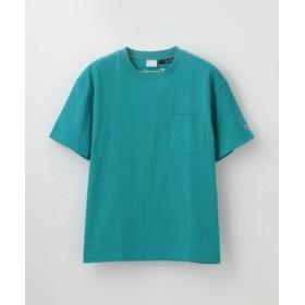 (LOVELESS/ラブレス)【Champion】WOMEN 別注ビッグシルエットエンブロイダリーポケットTシャツ/レディース ブルー2