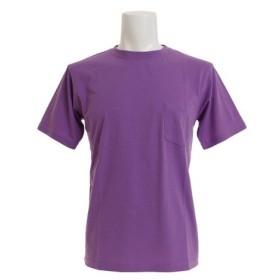 H・L・N・A 半袖Tシャツ HLNA-PB-021 PPL (Men's)