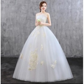 プリンセス パーティードレス マキシ丈 結婚式 お呼ばれ 二次会 大きいサイズ フォーマル イブニングドレス ウエディングドレス妊娠でもO