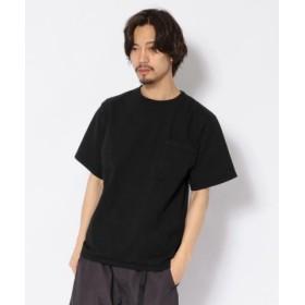 (UNCUT BOUND/アンカットバウンド)Goodwear(グッドウェア) レギュラー半袖Tシャツ (ピス無し)/メンズ BLACK
