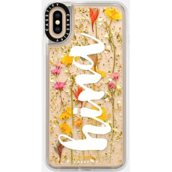 CASETiFY iPhone Xs Max ケース iphone iPhone Xs Max ケース 押し花 iPhone ケース プレスドフラワー iPhone カバー プレス