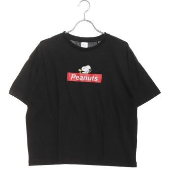 ピーナッツ PEANUTS レディース 半袖Tシャツ PN-9C22309TSRDキ