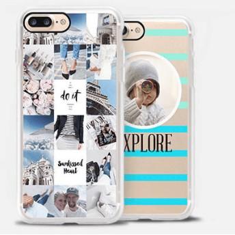 CASETiFY iPhone 7 インパクトケース クリアケース シンプル iphone ケース 薄型 スマホケース 薄い スマホケー