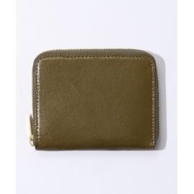 (TOMORROWLAND/トゥモローランド)glazing goatskin/coin コインケース/メンズ オリーブ 送料無料