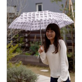 (MOONBAT/ムーンバット)estaa エスタ WJミニ傘【UV】 ランダムスタイル/レディース グレー