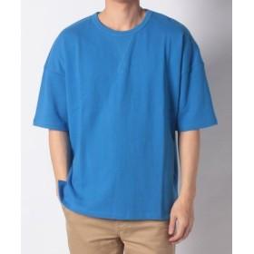 (URBAN RESEARCH OUTLET/アーバンリサーチ アウトレット)【ROSSO】ミニ裏毛Tシャツ/メンズ ブルー