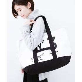 (haco!/ハコ)F/CE. No.3 COMBINATION BOAT & TOTE BAG/レディース ブラック×ホワイト
