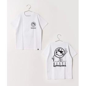 (RUSTY/ラスティ)キッズ Tシャツ/ユニセックス ホワイト