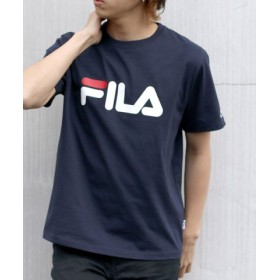 (MARUKAWA/マルカワ)【FILA】フィラ ロゴ 半袖Tシャツ/メンズ ネイビー