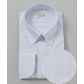 (gotairiku/五大陸)【形状安定】【スナップダウン】PREMIUMPLEATS ドレスシャツ/メンズ サックスブルー系1