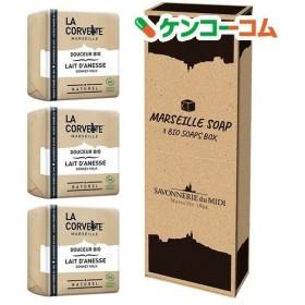 マルセイユソープ 3BIOSoaps BOX ドンキーミルク ( 100g3コ入 )/ ラ・コルベット