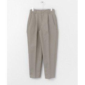 (URBAN RESEARCH DOORS/アーバンリサーチドアーズ)UNIFY Cotton tapered pants/レディース GREY 送料無料