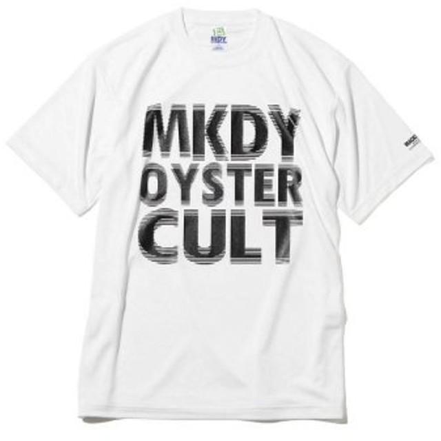 (atmos/アトモス)MACKDADDY MKDY OYSTER CULT S/S DRY TEE WHITE/メンズ ホワイト