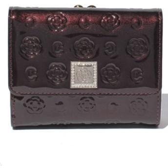 (CLATHAS/クレイサス(バッグ))ベティー 口金折り財布/レディース ワイン 送料無料