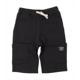 (GLAZOS/グラソス)ポケットデザインカットソーハーフパンツ/レディース ブラック