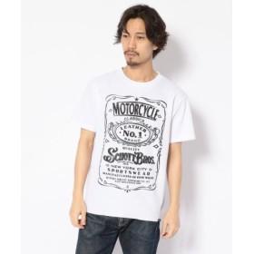 (Schott/ショット)THERAML T-SHIRT No.1/サーマルTシャツ ナンバーワン/メンズ WHITE