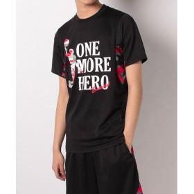 (SPORTS AUTHORITY/販売主:スポーツオーソリティ)エスエーギア/メンズ/半袖TシャツONE MORE HERO/メンズ ブラック