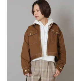 (JOINT WORKS/ジョイントワークス)UNIVERSAL OVERALL×JOINT WORKS truck jacket◆/レディース キャメル 送料無料
