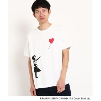 THE SHOP TK / ザ ショップ ティーケー グラフィック半袖Tシャツ バンクシー